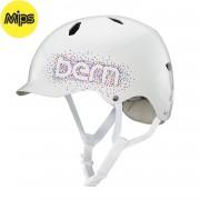 Bern Helma Bern Bandita Mips gloss white confetti logo