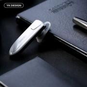 Casca Wireless Bluetooth Cu Microfon Stereo iPhone Samsung Xiaomi HTC Gri Deschis