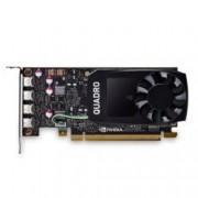Видео карта NVIDIA Quadro P1000, 4GB, PNY VCQP1000DVI-PB, PCI-E 3.0, GDDR5, 128-bit, 4x mDisplayPort