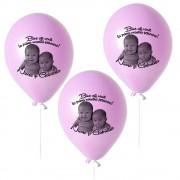 Baloane Botez Personalizate Cu Foto