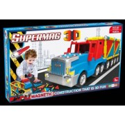 Supermag 3D - Jucarie Cu Magnet Camion.Setul include 126 piese.