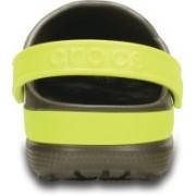 Crocs Men Pewter/Oyster Sports Sandals