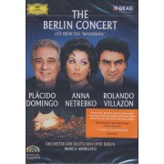 Placido Domingo, Anna Netrebko, Rolando Villazon - The Berlin Concert - Live from Waldbuhne (0044007343029) (1 DVD)