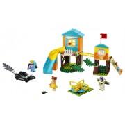 LEGO® Juniors Aventura lui Buzz si Bo Peep pe terenul de joaca