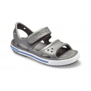 Crocs Preschool Crocband™ II Sandalen Kinder Slate Grey/Blue Jean 29