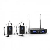 Malone Duet Pro V2 Set Microphones UHF 2 canaux portée 50m