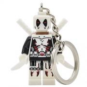 Generic Deadpool Figure Super Hero Keychain Keys Custom Ring Keychains DIY Handmade Key Ring Building Blocks Toys A187