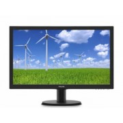 "MONITOR PHILIPS 23.6"" LED, 1920x1080, 5ms, 250cd/mp, VGA+DVI-D 243S5LSB/00"