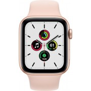 Apple Watch SE 40mm (GPS Only) Aluminium Case Gold Sport Band Sand Roz
