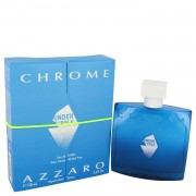Chrome Under The Pole by Azzaro Eau De Toilette Spray 3.4 oz