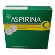 BAYER SpA ASPIRINA C 40 COMPRESSE EFFERVESCENTI 400+240MG