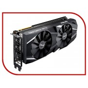 Видеокарта ASUS GeForce RTX 2070 Advanced 1410Mhz PCI-E 3.0 8192Mb 14000Mhz 256 bit Display Port HDMI HDCP DUAL-RTX2070-A8G