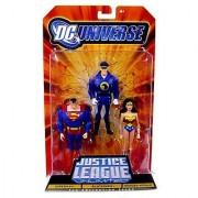 DC Universe Justice League Unlimited BlackHawk Superman Wonder Woman