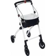 Cadru ajutator pentru mers in interior Ridder cu roti rolator cu cos si tava pliabil Ridder A0300301