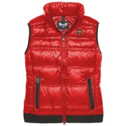 Blauer USA Abajo chaleco señora Rojo XL