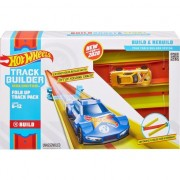 Set joaca Hot Wheels, Fold Up Track Pack, 24 piese
