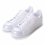 【SALE 10%OFF】アディダス オリジナルス adidas Originals atmos SUPERSTAR GLOSSY TOE W (WHITE) レディース