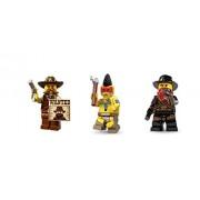 LEGO Lego Sherrif Bandit Indian Warrior Minifigures