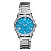 Michael Kors Ladies Hartman Capri Chic Watch MK3519 - Silver - Size: One Size