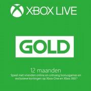 Xbox Live Gold abonnement 12 maanden ( Code / CD Key)