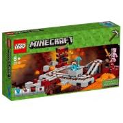 Lego Klocki konstrukcyjne Minecraft Linia kolejowa w Netherze 21130