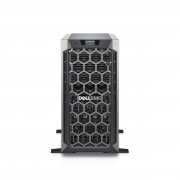 Dell PE T340/Chassis 8 x 3.5 HotPlug/Xeon E-2124/8GB/1x1TB/Casters/Bezel/DVD RW/On-Board LOM DP/PERC H330/iDRAC9 Bas/