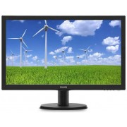 "Monitor TFT LED Philips 23.6"" 243S5LSB5, Full HD (1920 x 1080), VGI, DVI, 5 ms (Negru)"