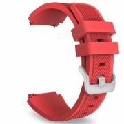 Reemplazo de bandas de silicona suave reloj para Samsung Gear S3 - Rojo