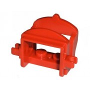 LEGO Lego Animal Minifigure Accessory: Red Saddle