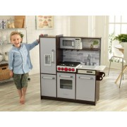 Bucatarie copii Uptown Elite Espresso Play Kitchen - KidKraft