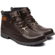 Andrew Scott Brazilian Boots For Men(Brown)