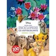 Prima mea enciclopedie cu autocolante. Animale. Plante/Disney