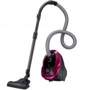 Aspirator cu sac Samsung VC07M25F0WP, 750 W, 2.5 L, Perie 2-step, Perie parchet, Culoare Campbell Purple