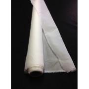 Tissus toile organdi ecru ivoire 100 % coton peigné au metre en