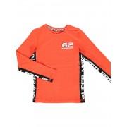 Name It! Jongens Shirt Lange Mouw - Maat 104 - Rood - Katoen/elasthan