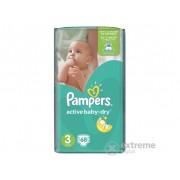 Pampers Active Baby-Dry pelena 3 midi 68 kom