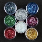 Snazaroo Green Face Paint - 12ml Snazaroo Glitter Cream Pot. Safe to use on skin. Washes off with soap and water