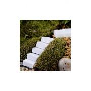 ELECTROPRIME® Mini Stone Garden Ornament Miniature Fairy Garden Decor DIY New Arrival Portable (White)