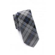 Ben Sherman Karan Panel Plaid Tie BLACK