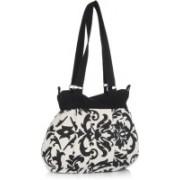 Home Heart College Girl White, Black Shoulder Bag