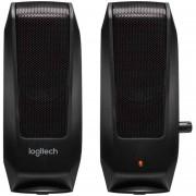 Bocinas LOGITECH S120 Sonido Estéreo 3.5 mm 2.2W RMS 980-000161