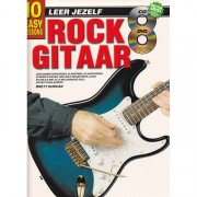 Leer Jezelf rockgitaar incl cd en dvd