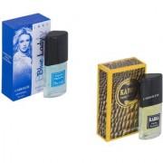 My Tune Set of 2 Kabra Yellow-Blue lady Perfume