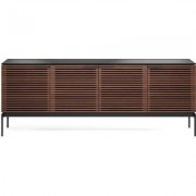 BDI Corridor Four Door Console Chocolate Stained Walnut