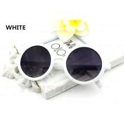Ochelari de soare cu rame albe Yooske Vintage