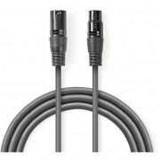Nedis COTG15010GY200 XLR - XLR egyensúlyozott audiokábel 20m - szürke