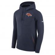Nike Fly Fleece (NFL Broncos) Herren-Hoodie - Blau