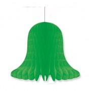 Merkloos Bruiloft decoratie klok groen 20 cm