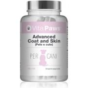 Simply Supplements Advanced Coat and Skin (Pelo e cute) 120 Capsule facili da aggiungere al cibo