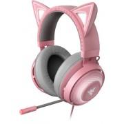 Razer - Kraken Kitty Wired Stereo Gaming Headset with RGB lighting - Quartz Pink